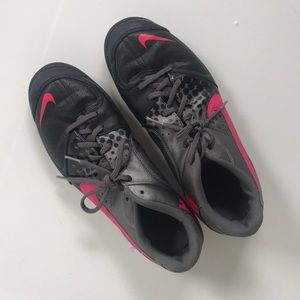 Barely used NIKE indoor soccer shoes!